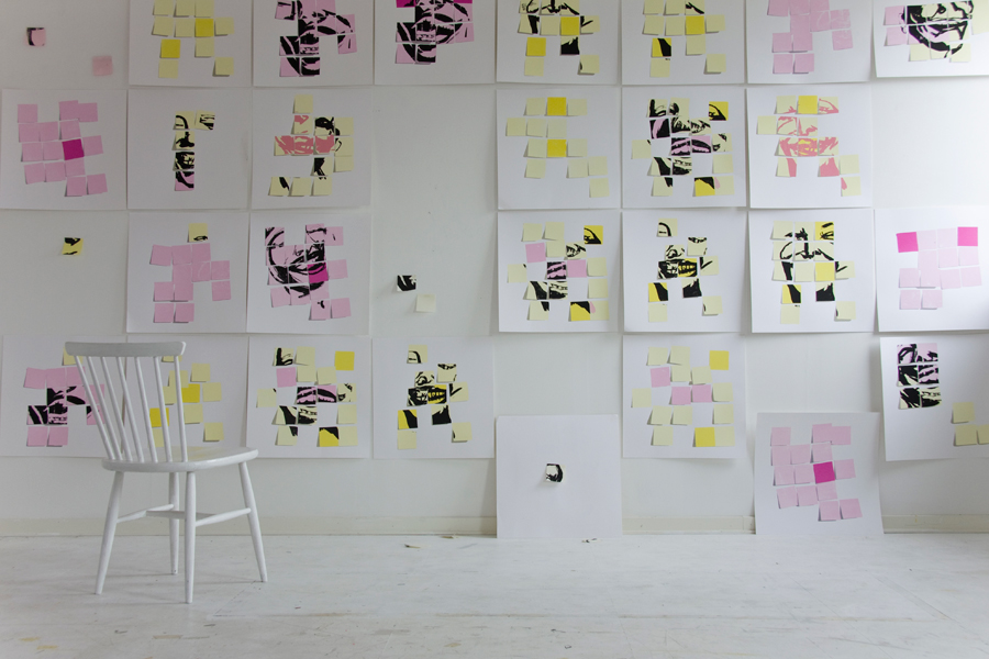 postitprints_wall